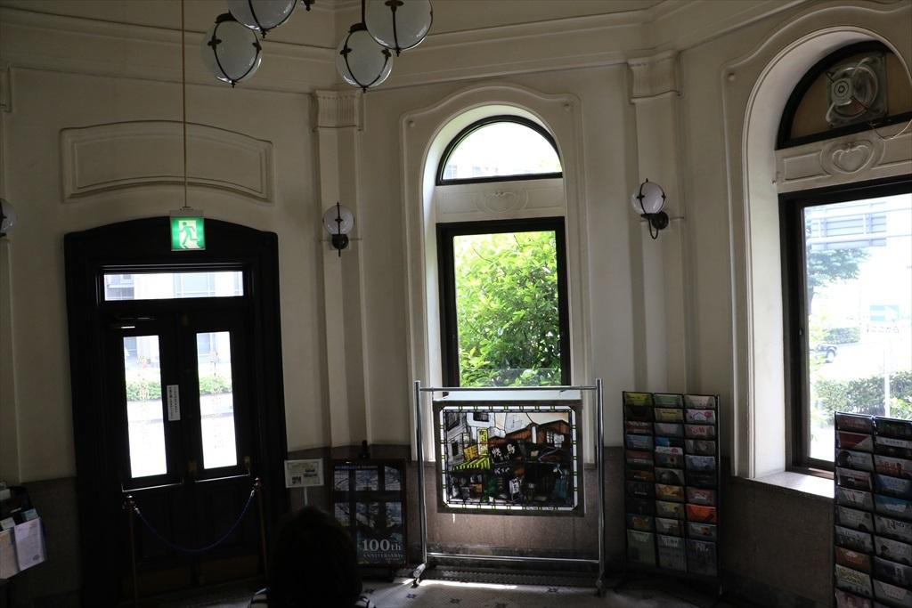ドームの下部にあたる1階の旧出入口_1