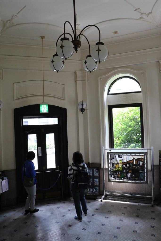ドームの下部にあたる1階の旧出入口_2