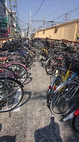 Bicycle parking in Japan (3)