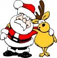 クリスマス(サンタ&トナカイ