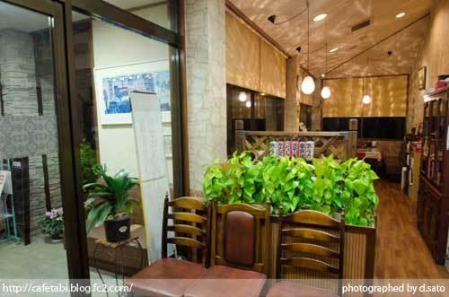 茨城県 鉾田市 食事 洋食 レストラン ディナー グリルあらの うまい 満腹 満足 アクセス 駐車場 国道51号線沿いのお店 店内 06