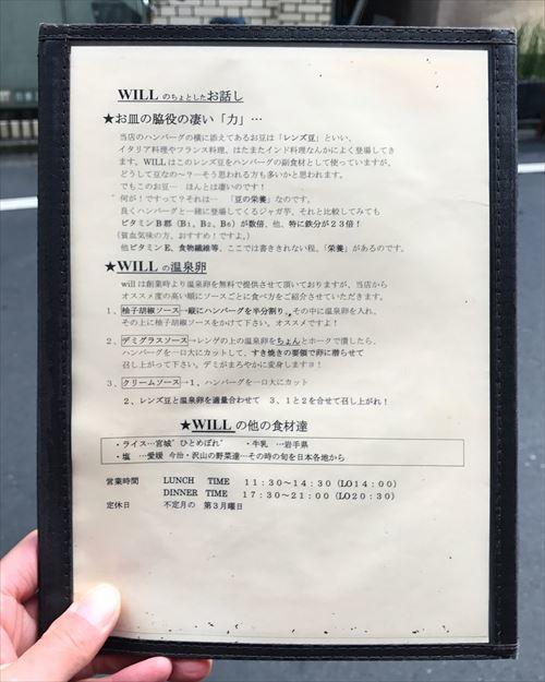 ゆうブログケロブログハンバーグウィル(4)