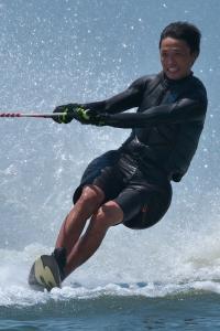 小美濃克有選手(慶4)TOP6 Slalom1