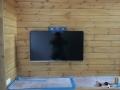 新築3棟目壁掛TV正面