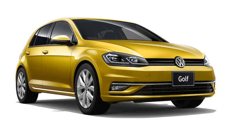 VW新型ゴルフ2017