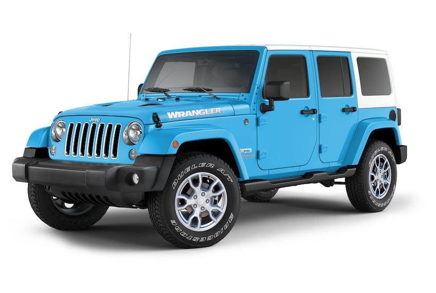 「Jeep® Wrangler JK」を発売 FCAジャパン株式会社