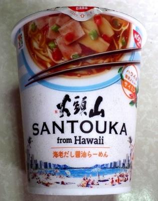 6/27発売 山頭火 from Hawaii サイミン 海老だし醤油らーめん