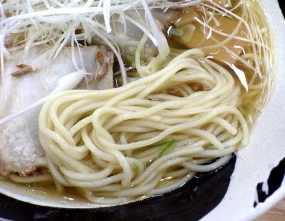 はじめ製麺所 壱 中華そば(麺のアップ)
