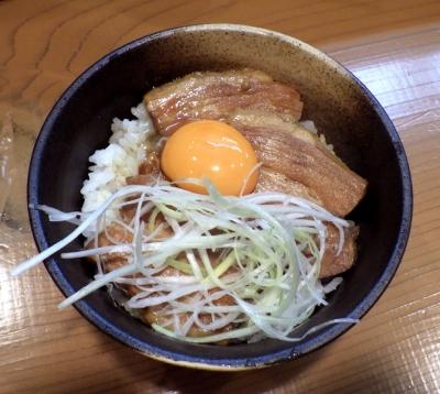 麺屋 一刃 豚バラチャーシュー丼