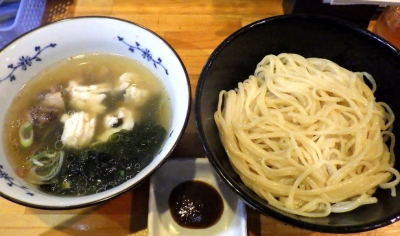 麺哲支店 麺野郎 徳島椿泊産鱧と煮若布の塩つけ麺