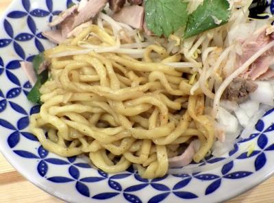 ムタヒロ 堺東店 ニボシマゼソバ(麺のアップ)