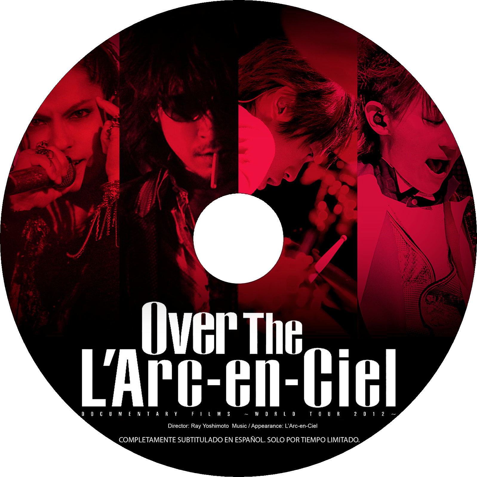 Over The L' Arc-en-Ciel ラベル
