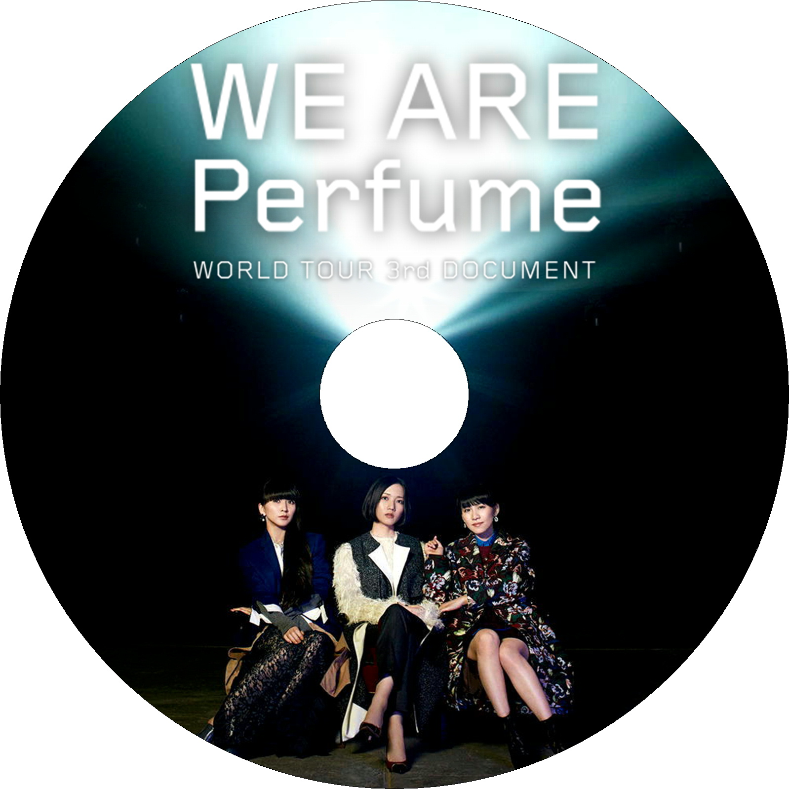 WE ARE Perfume -WORLD TOUR 3rd DOCUMENT ラベル