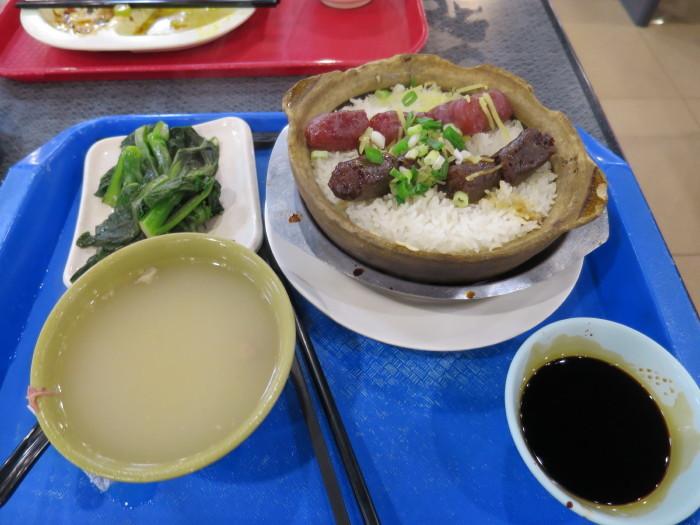 香港 晩御飯 フードコート