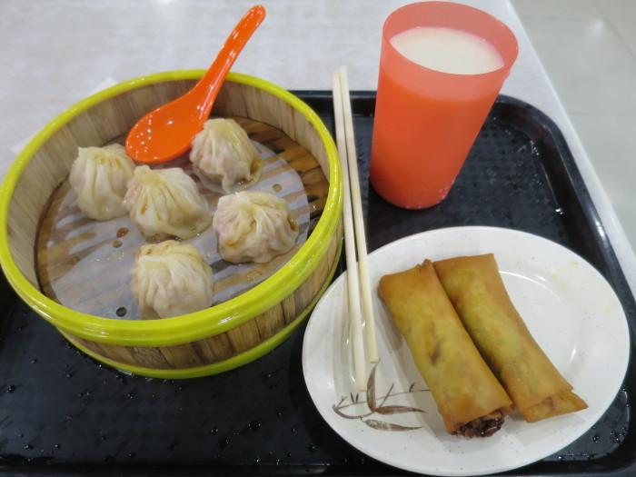香港 フードコート ホンハム 飲茶