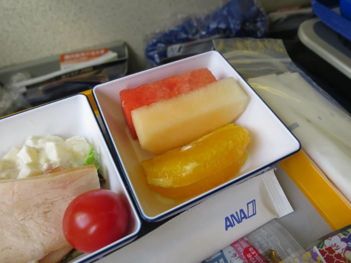 ANA 機内食 中国線