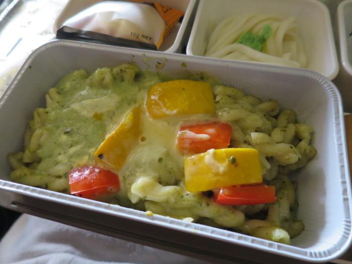 キャセイパシフィック 香港関西便 機内食
