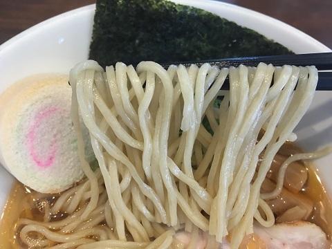 塩ラーメン麺