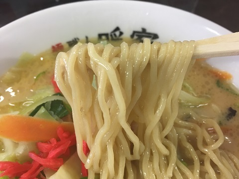 みそ野菜麺