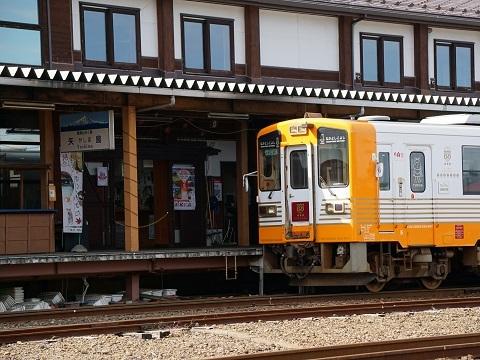 5矢島駅列車