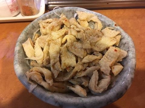 11鳥皮ポン酢