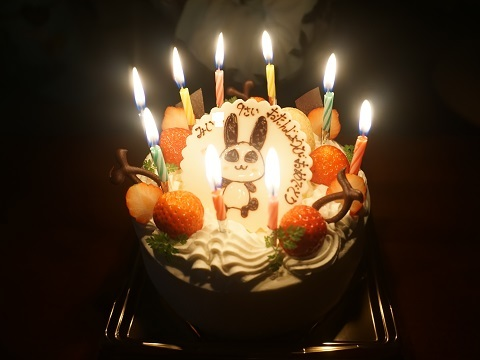 9才ケーキ1