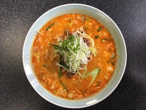 野菜たっぷり担々麺2