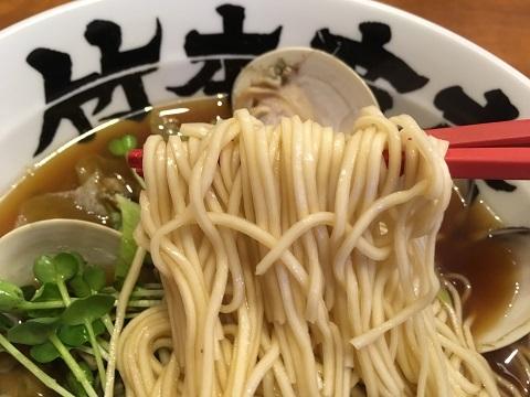 牡蠣アヒージョ麺