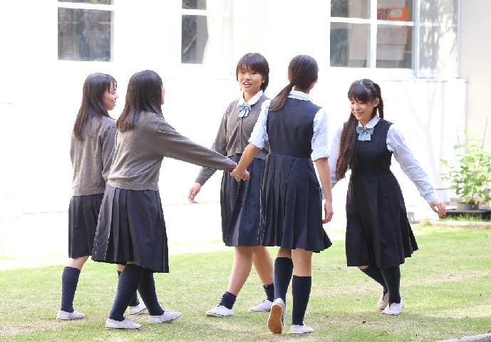 2017中学1日体験入学案内用写真