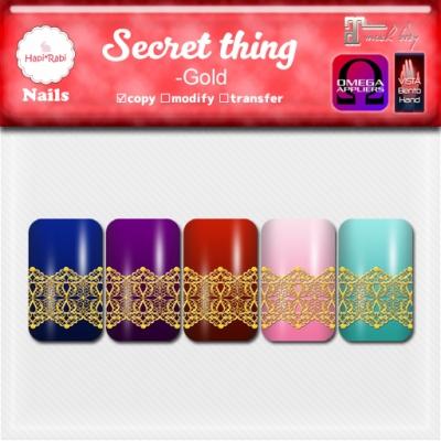 Secret thing GoldAD