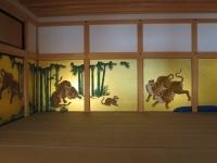 名古屋城の中