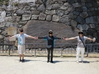 石の大きさがよく分かるかと