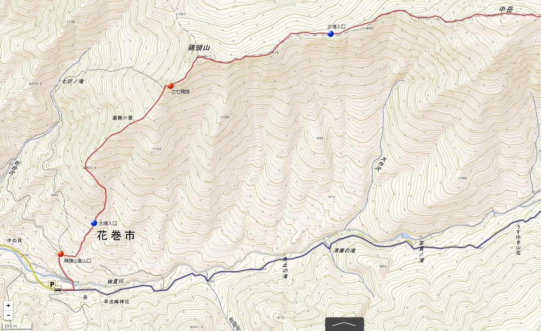 早池峰山1