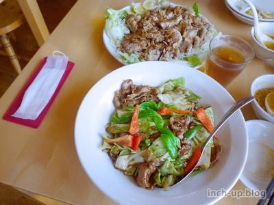 回鍋肉と油淋鶏