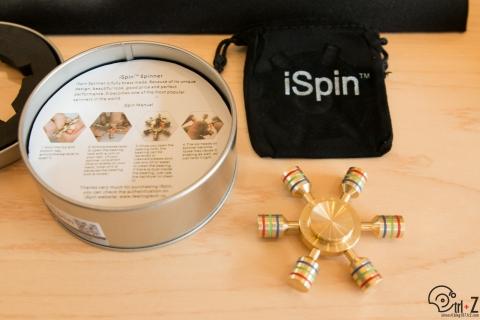 ハンドスピナー ispin s1