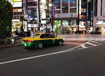 タイのタクシー 渋谷に? (1)