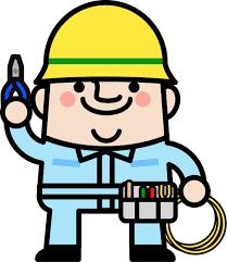 電車線路工事作業の仕事です