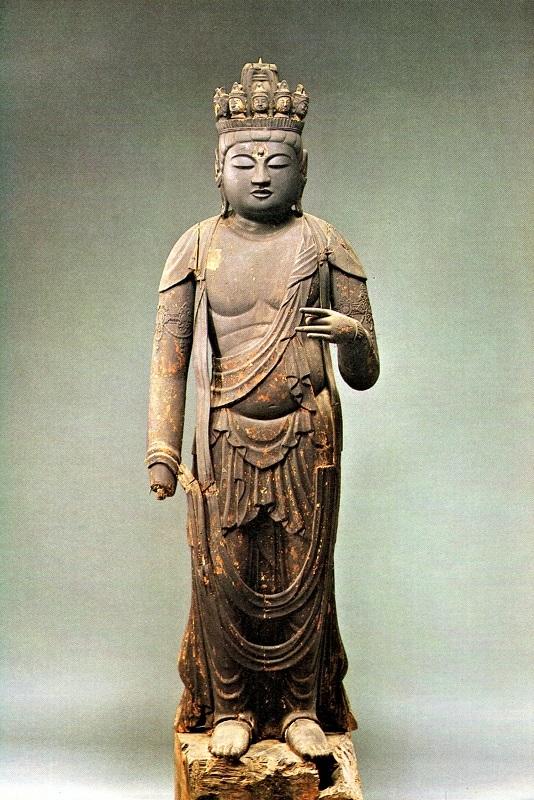 妙傳寺(八瀬文化財保存会)・十一面観音像