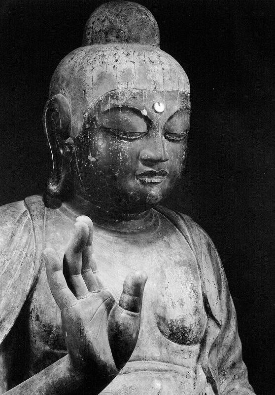 古保利薬師像の右手