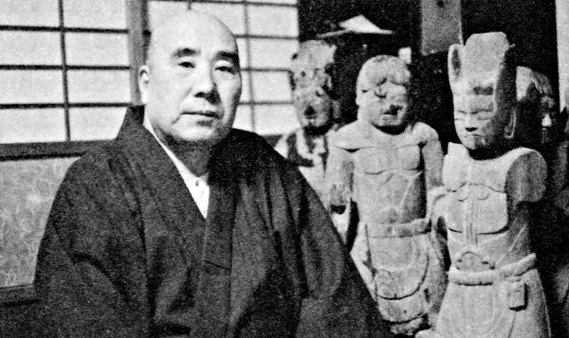 白石義男仏師(「回想の古保利薬師」所載)