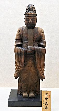 勝尾寺・天部形神像