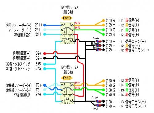 リレー配電基板 D-2モジュール