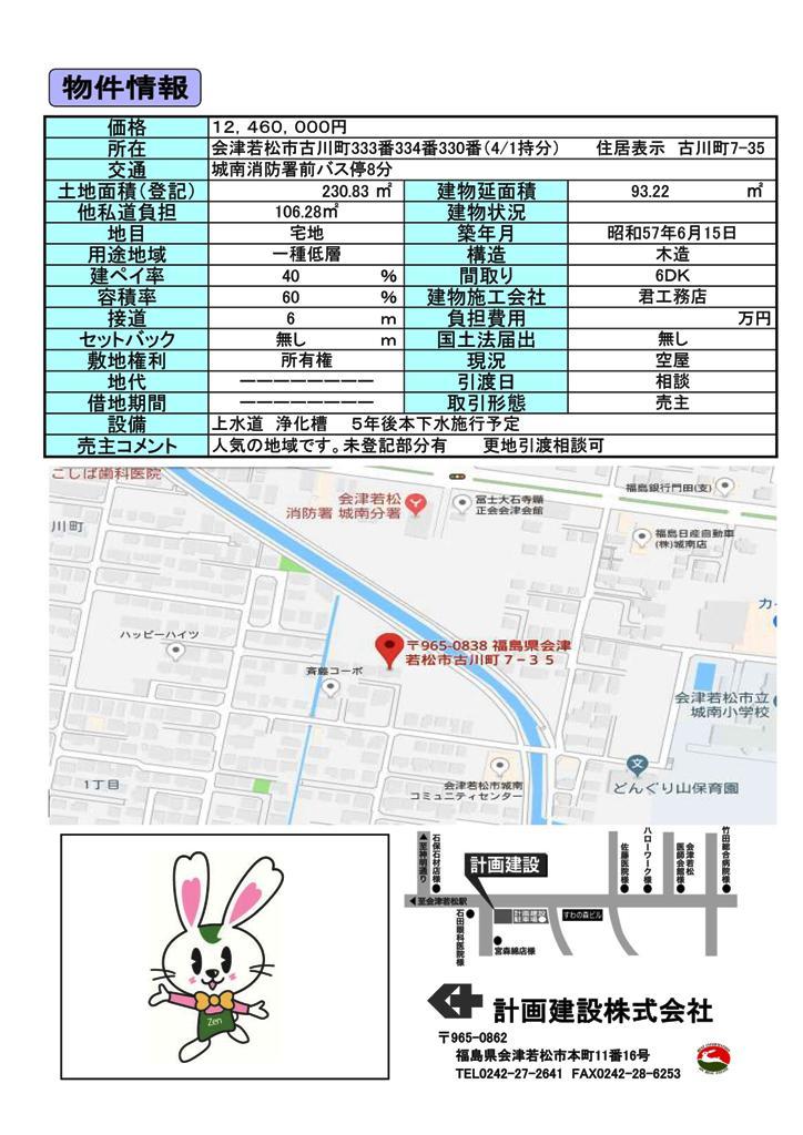 古川町 売地_01