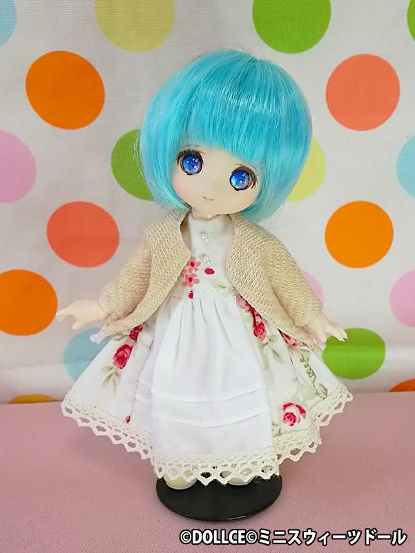 【オビツ11】花柄ドレスセットA