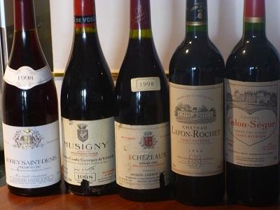 1998のワイン