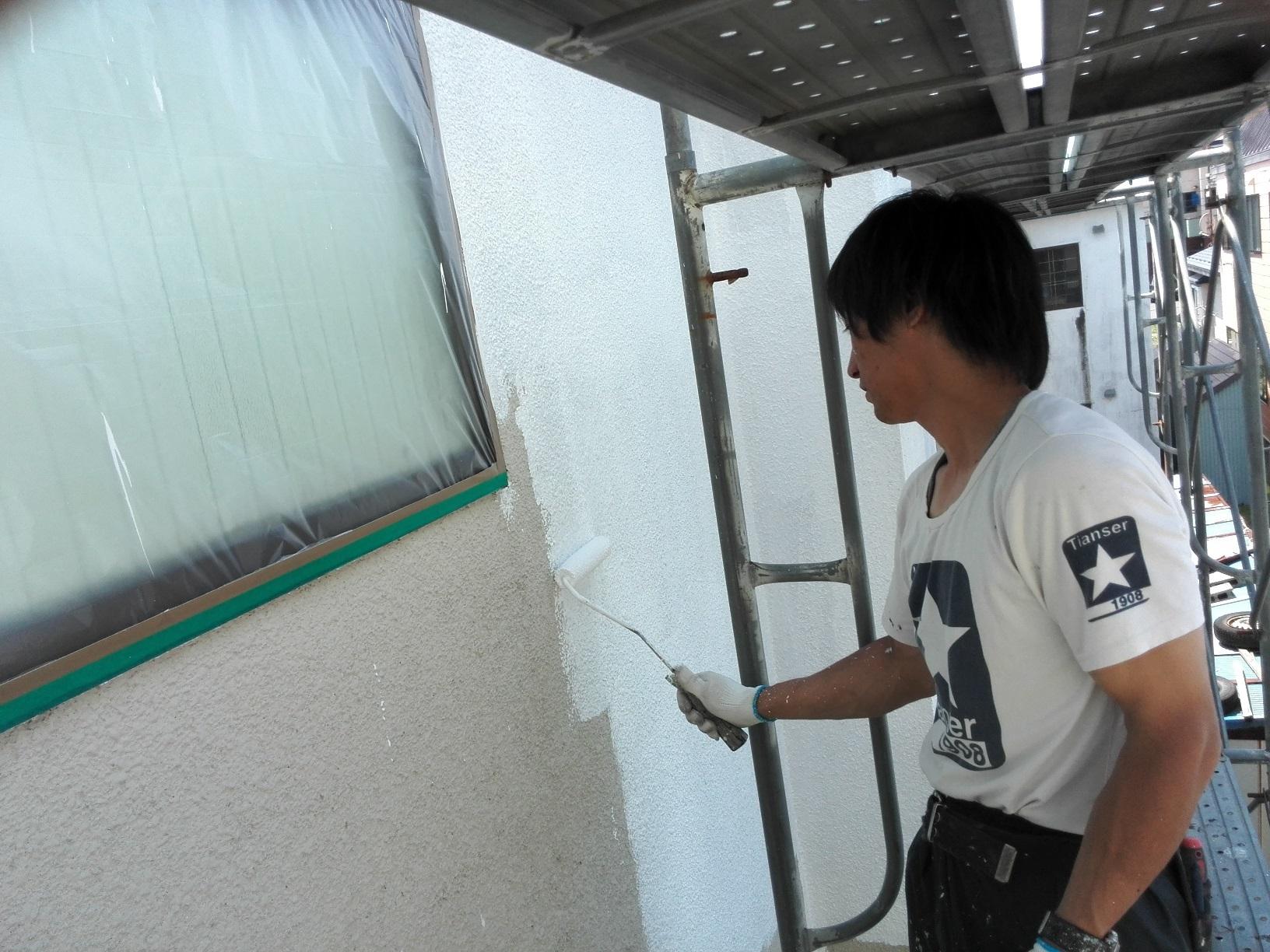 外壁下塗り サーフ2