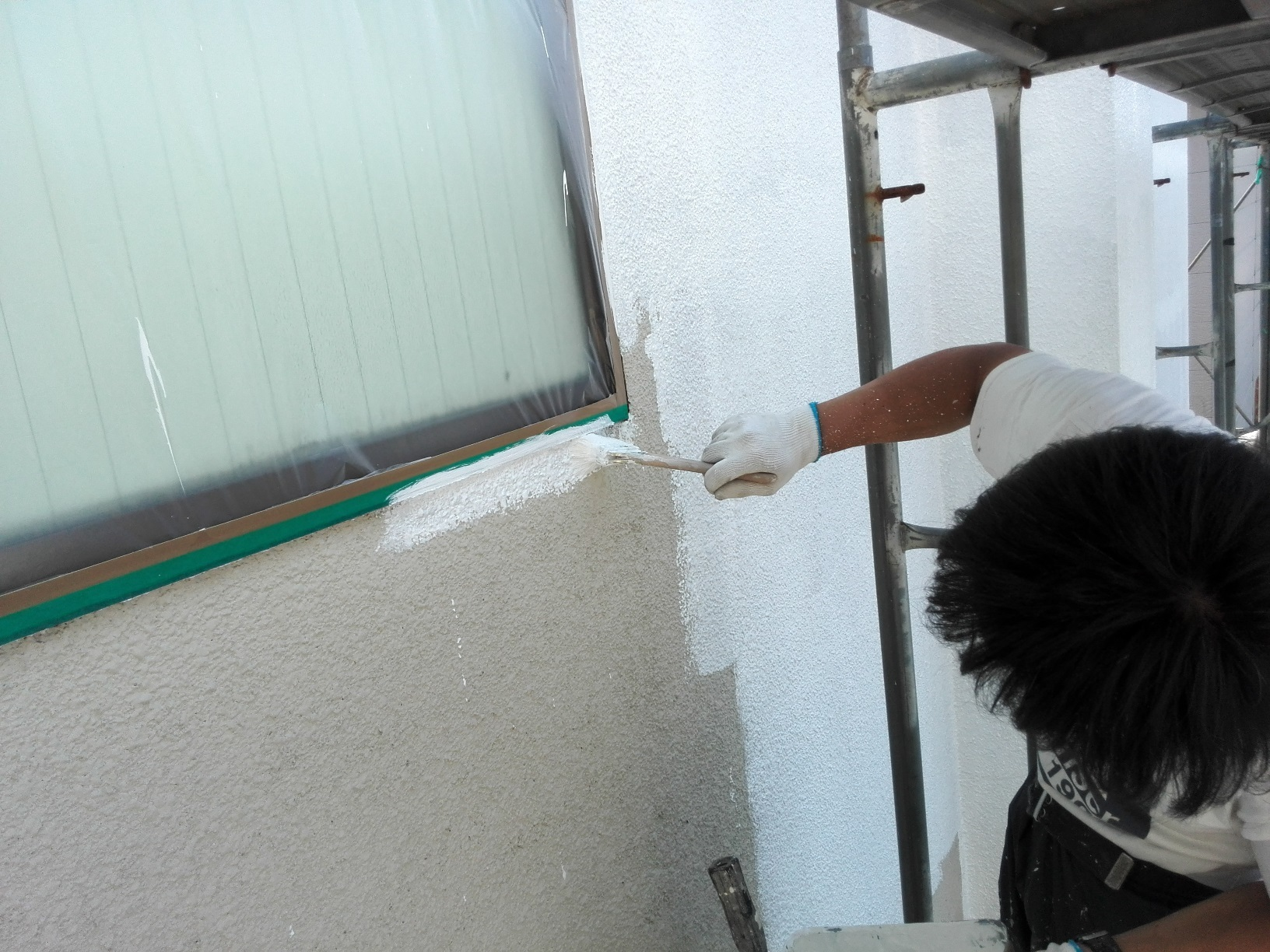 外壁下塗り サーフ3