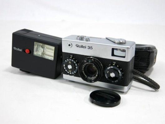 ROLLEI 35 GERMANY ローライ 35 コンパクトフィルムカメラ