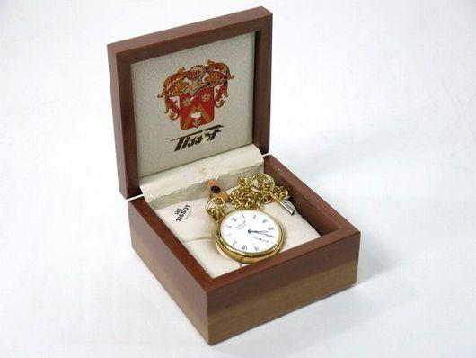 未使用 TISSOT テッソ 手巻き 懐中時計