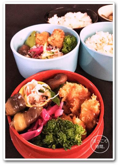 豚と鶏むね肉のフライ弁当